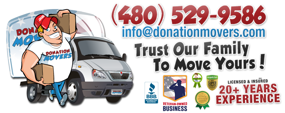 Donation Movers - Arizona Movers